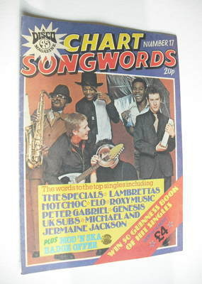 Chart Songwords magazine - No 17 - June 1980