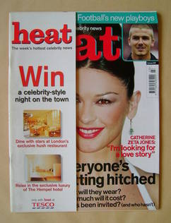<!--2000-06-10-->Heat magazine - Catherine Zeta Jones cover (10-16 June 200