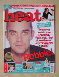 Heat magazine - Robbie Williams cover (17-23 June 2000 - Issue 70)