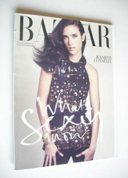 Harper's Bazaar magazine - February 2009 - Jennifer Connelly cover (Subscriber's Issue)