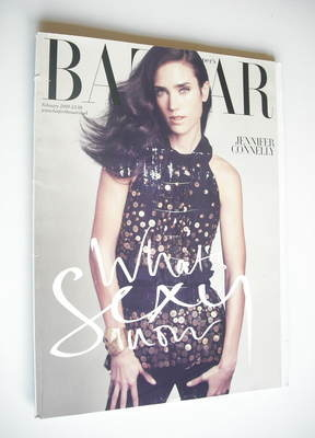 <!--2009-02-->Harper's Bazaar magazine - February 2009 - Jennifer Connelly