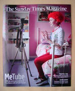 <!--2012-03-11-->The Sunday Times magazine - MeTube cover (11 March 2012)