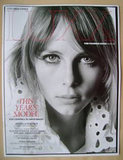 <!--2012-03-10-->LUXX magazine - 10 March 2012 - Edie Campbell cover