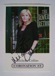 Michelle Collins autograph