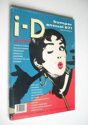 <!--1986-12-->i-D magazine - Mickey cover (December 1986/January 1987 - Iss