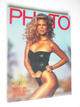 PHOTO magazine - June 1983 - Christie Brinkley cover