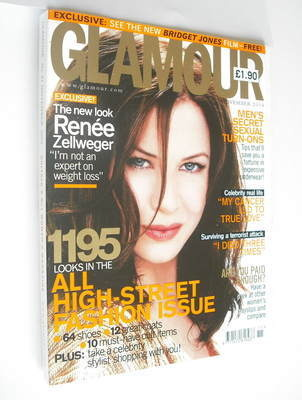 <!--2004-11-->Glamour magazine - Renee Zellweger cover (November 2004)