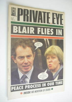 <!--1999-09-03-->Private Eye magazine - No 984 (3 September 1999)