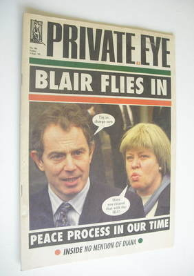 Private Eye magazine - No 984 (3 September 1999)