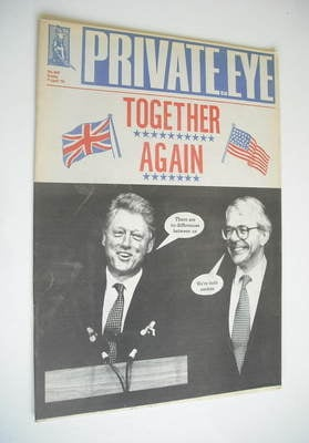 Private Eye magazine - No 869 (7 April 1995)