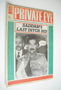 <!--1991-03-01-->Private Eye magazine - No 762 (1 March 1991)