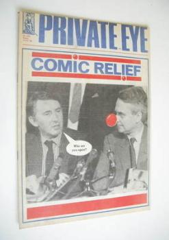 Private Eye magazine - No 682 (5 February 1988)