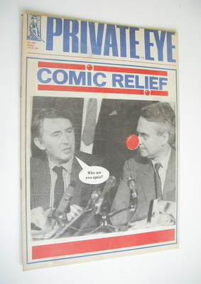 Private Eye magazine - No 682 (5 February 1988)