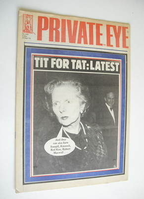 Private Eye magazine - No 620 (20 September 1985)