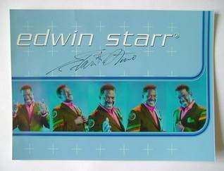 Edwin Starr autograph