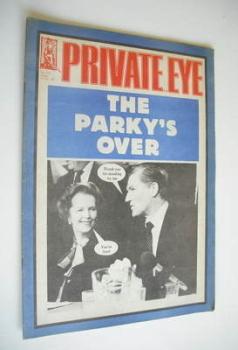 Private Eye magazine - No 570 (21 October 1983)