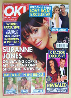 <!--2004-11-30-->OK! magazine - Suranne Jones cover (30 November 2004 - Iss