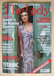 <!--2012-03-23-->The Lady magazine (23 March 2012 - Katie McGrath cover)