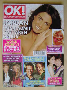 <!--2006-05-02-->OK! magazine - Jordan cover (2 May 2006 - Issue 518)