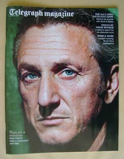 <!--2012-03-24-->Telegraph magazine - Sean Penn cover (24 March 2012)