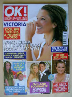 <!--2006-06-13-->OK! magazine - Victoria Beckham cover (13 June 2006 - Issu