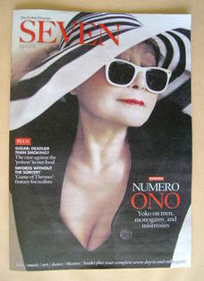 Seven magazine - Yoko Ono cover (25 March 2012)