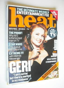 Heat magazine - Geri Halliwell cover (24-30 April 1999 - Issue 12)