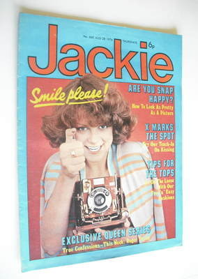 <!--1976-08-28-->Jackie magazine - 28 August 1976 (Issue 660)