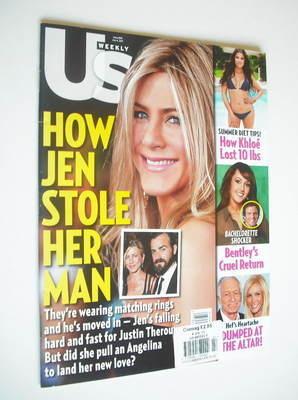 <!--2011-07-04-->US Weekly magazine - 4 July 2011 - Jennifer Aniston cover