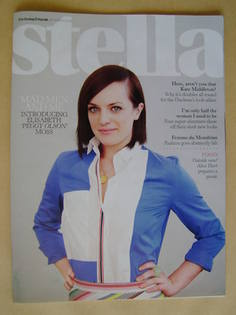 <!--2012-03-25-->Stella magazine - Elisabeth Moss cover (25 March 2012)