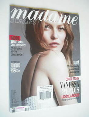 <!--2012-01-07-->Madame Figaro magazine - 7 January 2012 - Vanessa Paradis