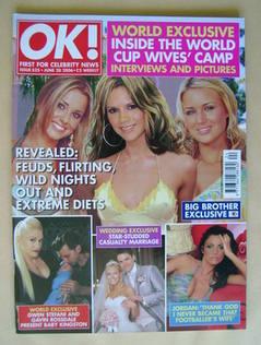 <!--2006-06-20-->OK! magazine - Cheryl Tweedy, Victoria Beckham, Alex Curra