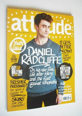 <!--2012-03-->Attitude magazine - Daniel Radcliffe cover (March 2012 - Issu