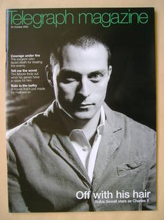 <!--2003-10-25-->Telegraph magazine - Rufus Sewell cover (25 October 2003)