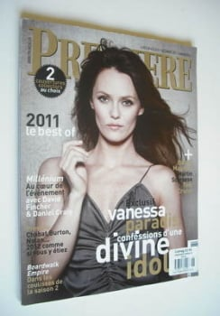 Premiere magazine - Vanessa Paradis cover (December 2011/January 2012)