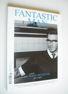 Fantastic Man magazine - David Beckham cover (Spring/Summer 2011)