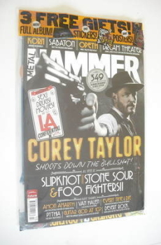 Metal Hammer magazine - Corey Taylor cover (March 2012)