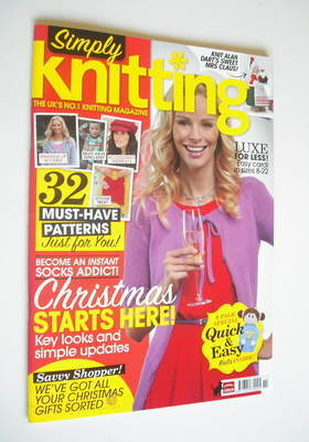 Simply Knitting magazine (Issue 86 - November 2011)