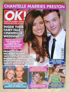 <!--2006-09-05-->OK! magazine - Chantelle Houghton and Samuel Preston cover