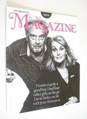 <!--2012-01-07-->The Times magazine - David Bailey and Jean Shrimpton cover