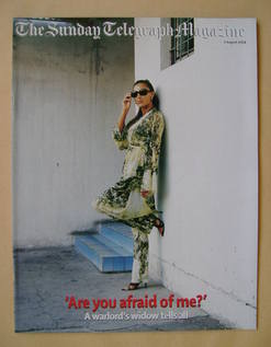 The Sunday Telegraph magazine - Ceca Velickovic cover (1 August 2004)