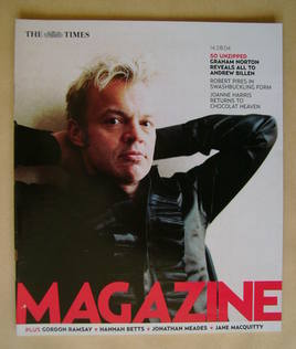 <!--2004-08-14-->The Times magazine - Graham Norton cover (14 August 2004)