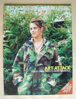 The Sunday Telegraph magazine - Tracey Emin cover (27 October 2002)