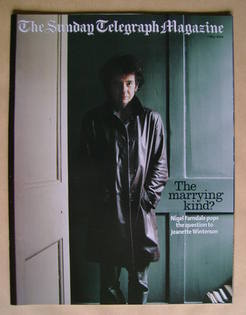 The Sunday Telegraph magazine - Jeanette Winterson cover (2 May 2004)