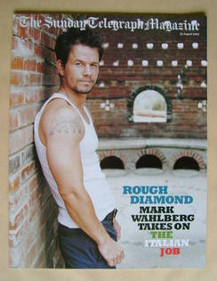 The Sunday Telegraph magazine - Mark Wahlberg cover (31 August 2003)