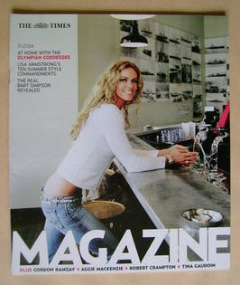 <!--2004-07-31-->The Times magazine - Inge de Bruijn cover (31 July 2004)