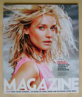 <!--2004-05-08-->The Times magazine - Diane Kruger cover (8 May 2004)