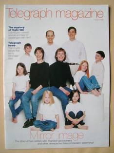 <!--1999-08-07-->Telegraph magazine (7 August 1999)
