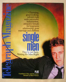 <!--1998-07-11-->Telegraph magazine (11 July 1998)