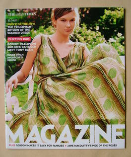 <!--2005-04-30-->The Times magazine - Frock Of The New cover (30 April 2005